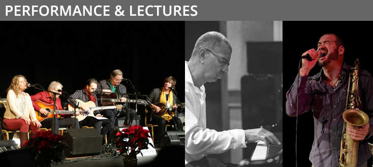 performance & lectures